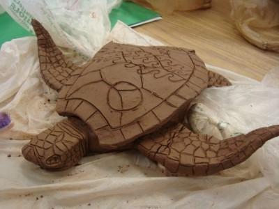 Ceramic Sea Turtles