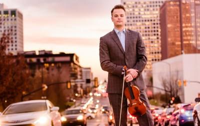 Concert in the Park: Fiddler Rob Landes