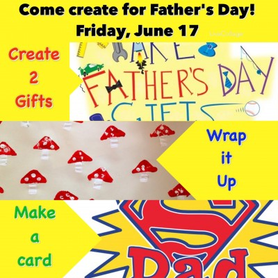Create Art for Father's Day