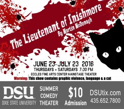 DSU Summer Comedy Theater: The Lieutenant of Inishmore