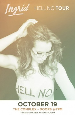 Ingrid Michaelson - Hell No Tour