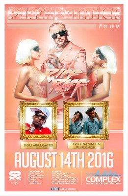 RIFF RAFF - The Peach Panther Tour