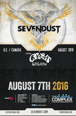 Sevendust with Crobot
