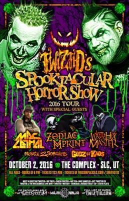 TWIZTID - Spooktacular Horror Show