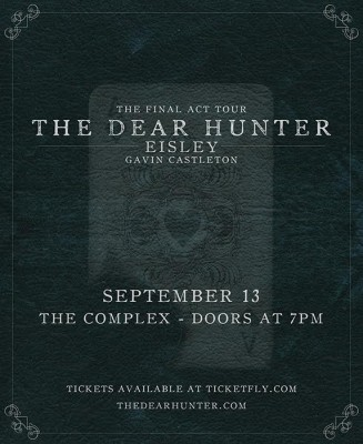 The Dear Hunter - The Final Act Tour