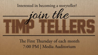 Timp Tellers: Historical, Pioneer, and Family Stories