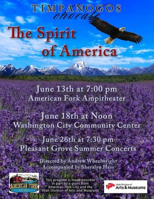 Timpanogos Chorale Spirit of America Concert