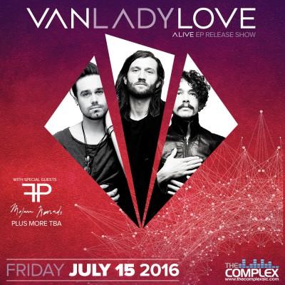 VanLadyLove Alive EP Release Show