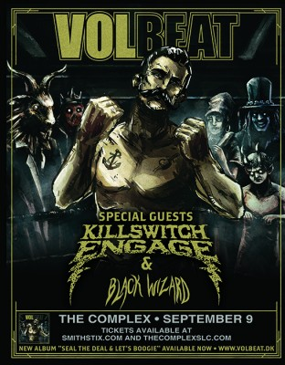 Volbeat with Killswitch Engage
