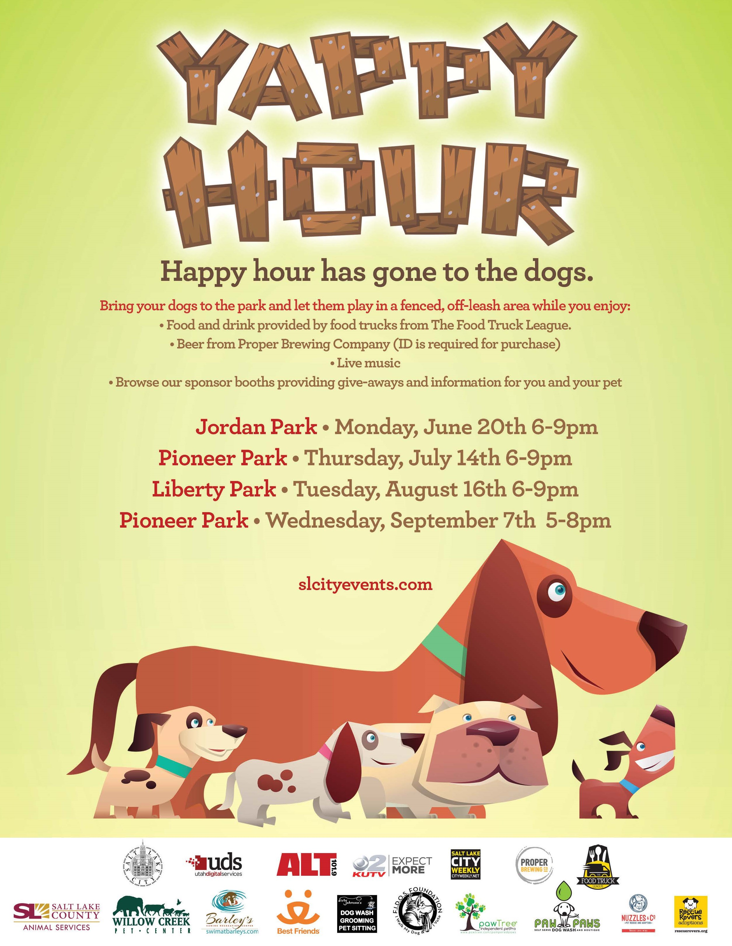 Yappy hour 2016 presented by salt lake city corporation yappy hour 2016 presented by salt lake city corporation nowplayingutah solutioingenieria Gallery