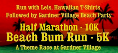 2016 Beach Bum Run Half Marathon, 10k and 5k