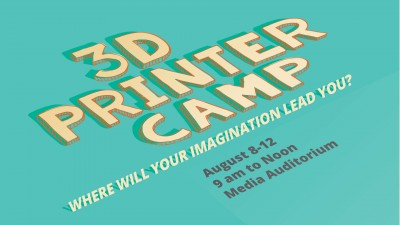 3D Printer Camp with 4H