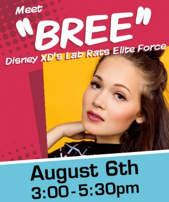 Bree from Disney Lab Rats FREE Public Appearance