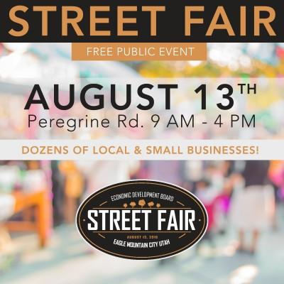 Eagle Mountain City Business Street Fair