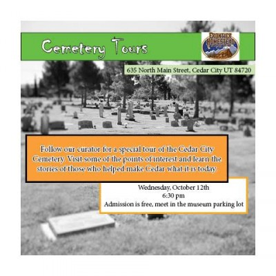 Frontier Homestead Cemetery Tour