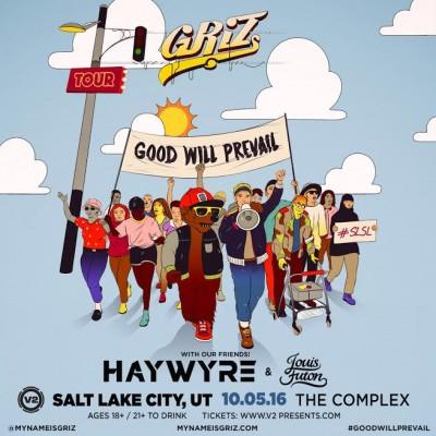 GRIZ - Good Will Prevail Tour