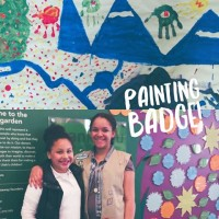 Girls Scouts Painting Badge Workshop