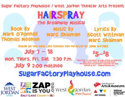 Hairspray by West Jordan Theatre Arts and the Suga...