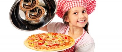 Kids in the Kitchen: Pizza