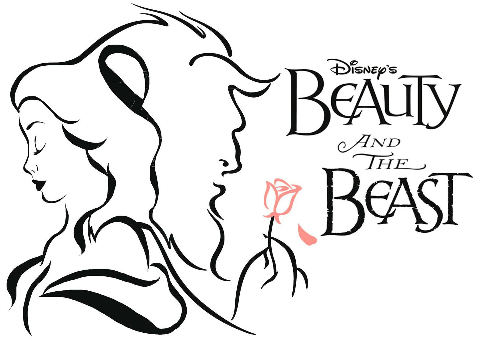 Clip Art Beauty And The Beast