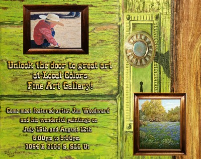 Local Colors Featured Artists Show with Jim Woodward