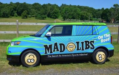 MadLibs Road Trip