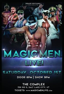 Magic Men Live!