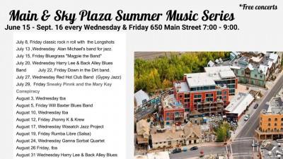 Main & Sky Plaza Summer Music Series