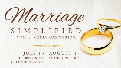 Marriage Simplified