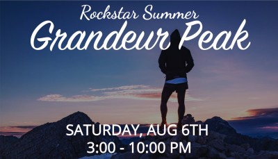 Rockstar Summer: Grandeur Peak Hike + Hog Wallow Afterparty
