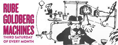 family rube goldberg machine