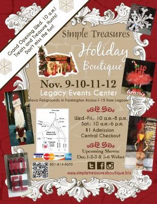 Simple Treasures Holiday Boutique in Farmington