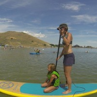 Stand Up Paddle and Crawdad Fry