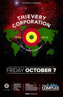 Thievery Corporation - 20th Anniversary