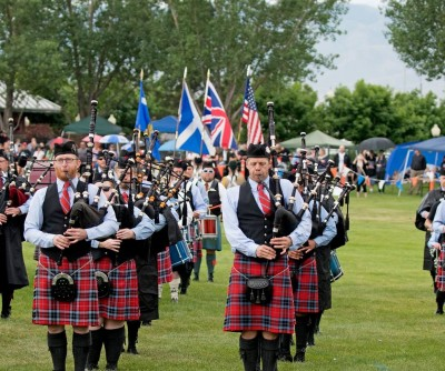 Wasatch and District Pipe Band Concert in the Park