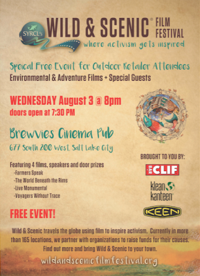 Wild and Scenic Film Festival Presents Evening of Environmental and Adventure Films