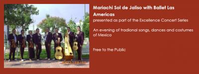 Mariachi Sol de Jalisco with Ballet Las Americas