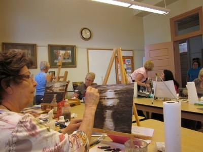 Adult Watercolor Classes