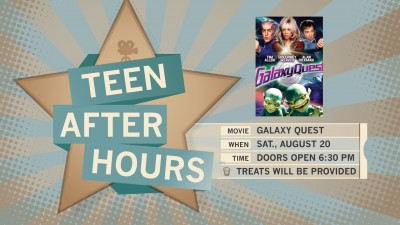 After Hours Teen Movie Night: Galaxy Quest