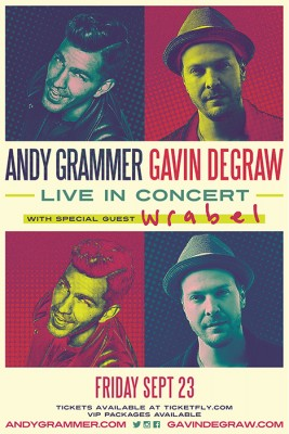 Andy Grammer and Gavin DeGraw