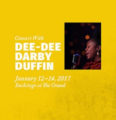 Backstage at The Grand with Dee Dee Darby-Duffin