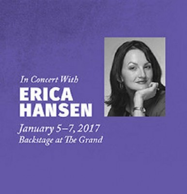 Backstage at The Grand with Erica Hansen