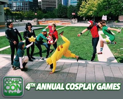 Cosplay Games- Salt Lake Comic Con 2016