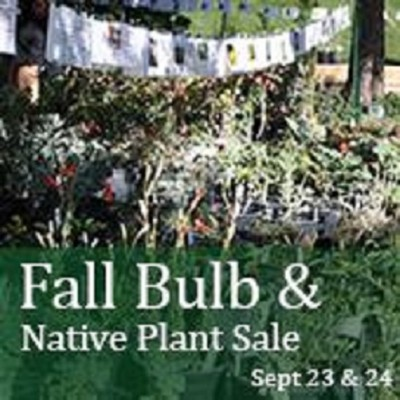 Fall Bulb and Native Plant Sale