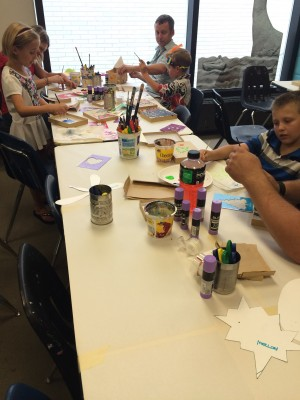 Family Art Saturday: Collagraph (Object Printmaking)