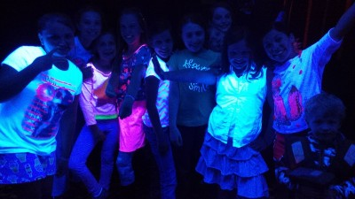 Free Glow in the Dark Dance Party for Kids!