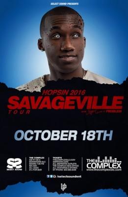 Hopsin - Savageville Toura