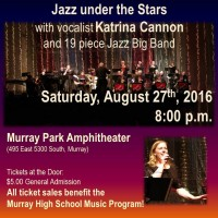 Jazz Under the Stars with Vocalist Katrina Cannon