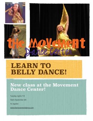Kids/Teen Bellydance Class at The Movement Dance Center