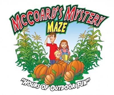 McCoard's Mystery Corn Maze, Zombie Paintball, Pumpkin Patch & Zipline